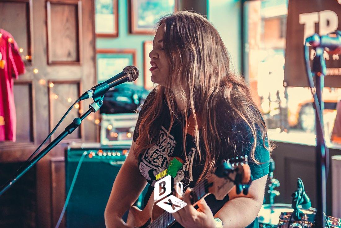 Girl From Winter Jargon - Music Box 2019 - Noisy Daughters - Photo Credit - Mark Blizard