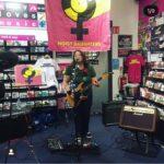 Girl From Winter Jargon, HMV, Darlington