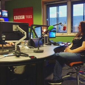 on - BBC Tees with Bob Fischer