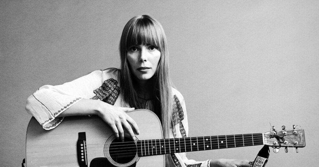 Joni Mitchell - Top 5 Inspirational Guitarists