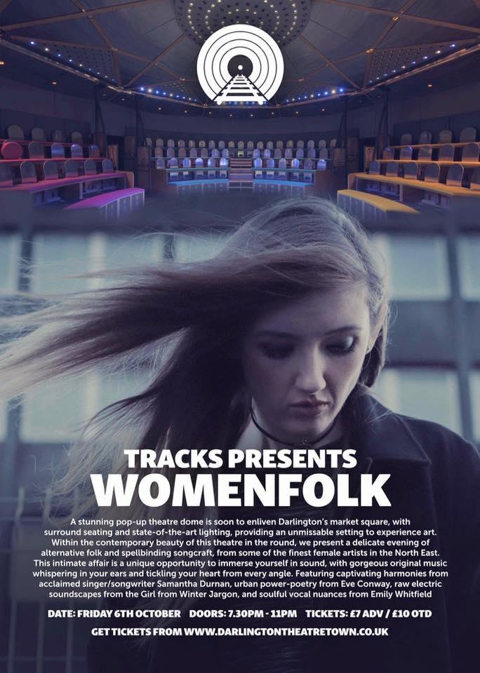 womenfolk - pop up theatre - darlington