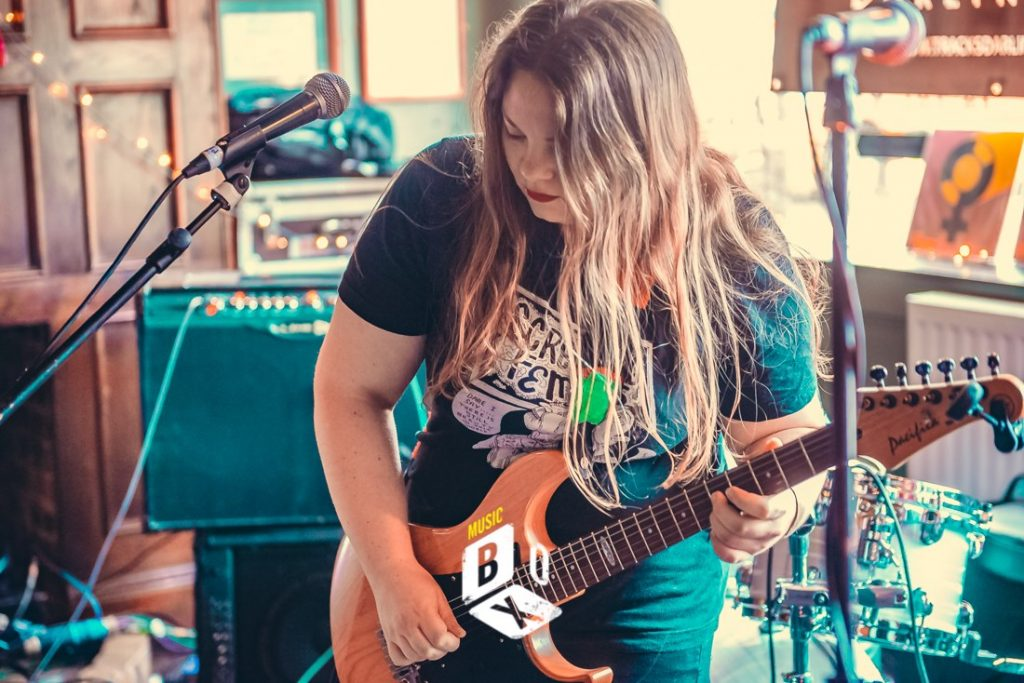 Girl From Winter Jargon - Music Box 2019 - Photo Credit - Mark Blizard