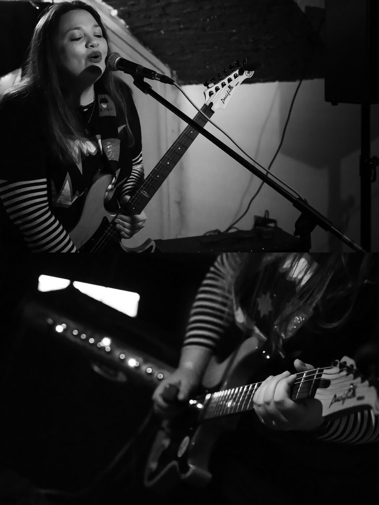 Girl From Winter Jargon @ The Holy Grail, Win Big Records, Durham - Photo Credit Matt Flynn